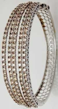 ladies exclusive half bangle jewerly