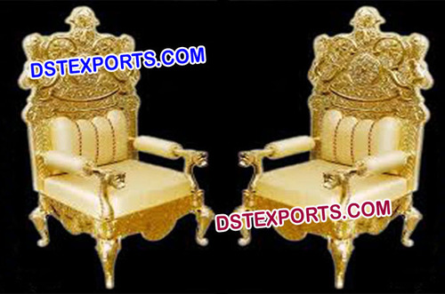 High Class Golden Designer Chairs