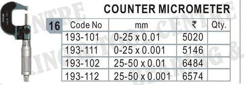 Counter Micrometer