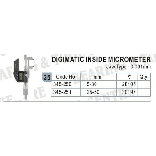 Digimatic Inside Micrometer