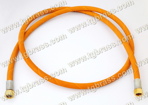 Flexible Burner Pigtails Orange
