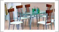 reuss table & corsica chair