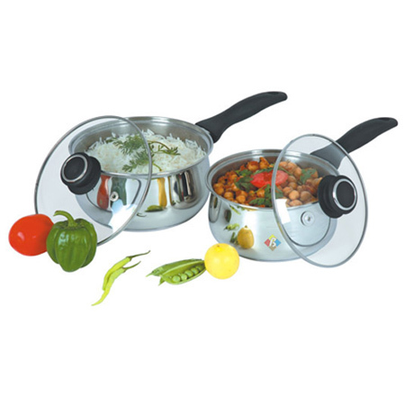 Encapsulated Steel Cookware