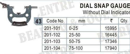Dial Snap Gauge without dial indicator