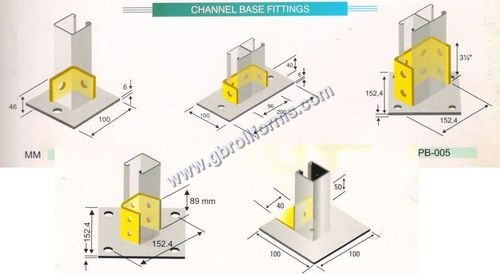 Channel Base Fitting