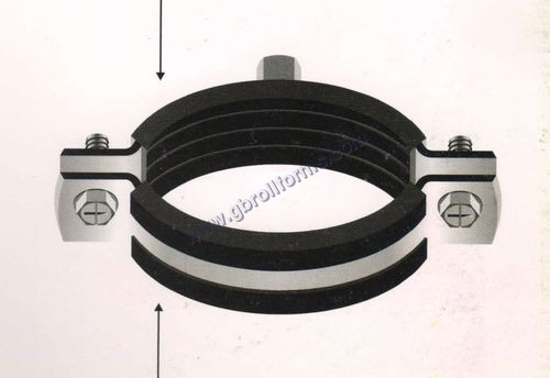 Rubber Lined Pipe Clamp