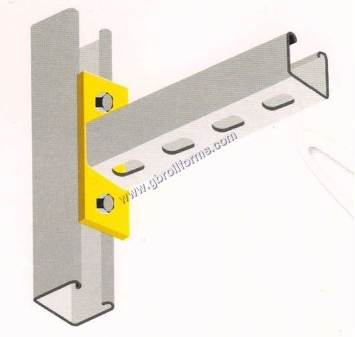 Slotted Channel Cantilever Arms