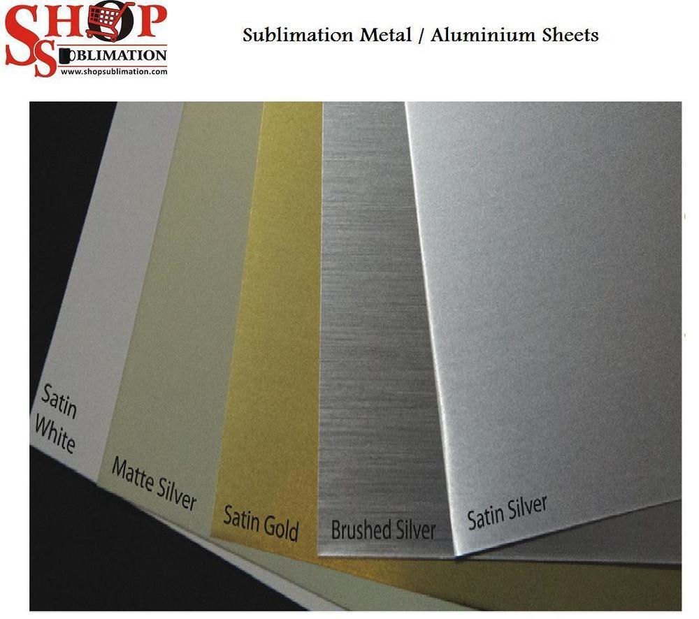 sublimation metal Aluminium sheets