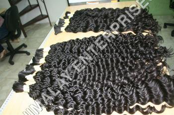 Curly Bulk Human Hair Extension