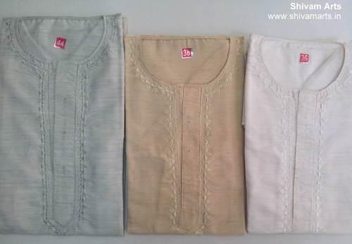 Teri-cotton Kurta Paijama Set