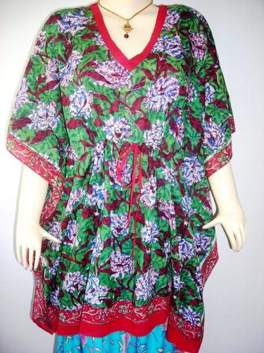 MULTI-COLOR SHORT KAFTAN