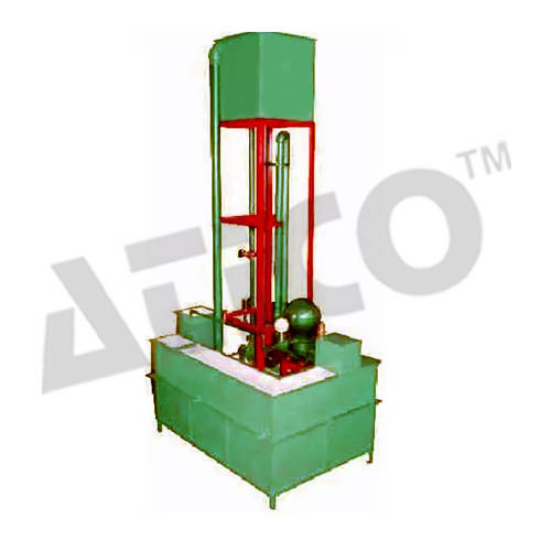 Closed Circuit Hydraulic Ram Test Rig