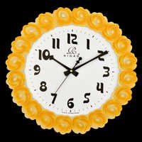 Modern Style Rose Wall Clock