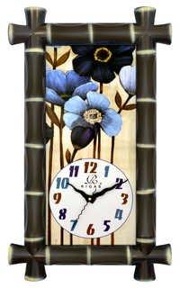 Long Narrow Wall Clock