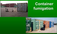 Palletisation And Fumigation Of Cargo