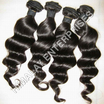 Virgin Wefted Wavy Hair
