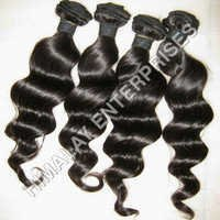 Virgin Wefted Wavy Hair