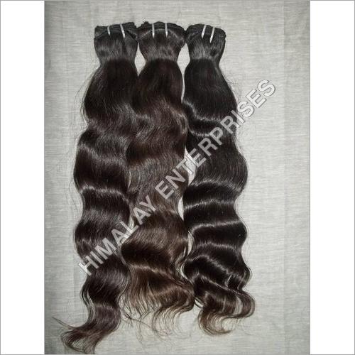 Virgin Machine Wefted Wavy Hair