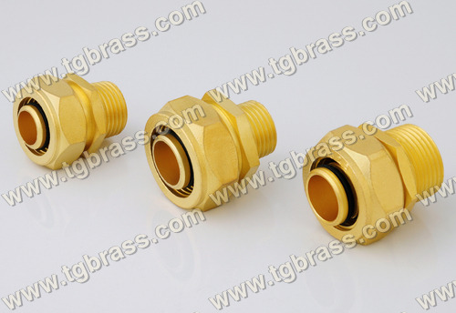 Brass Male Connectors For Plumbing Fitting