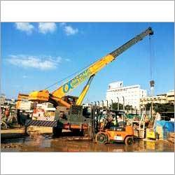 Structural Crane Rental Services