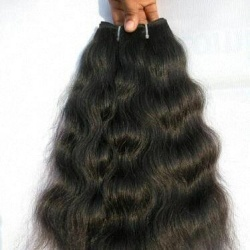 Machine weft indian hair