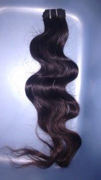 Indian machine extension hair