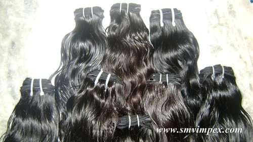 Machine made wafting indian wave hair