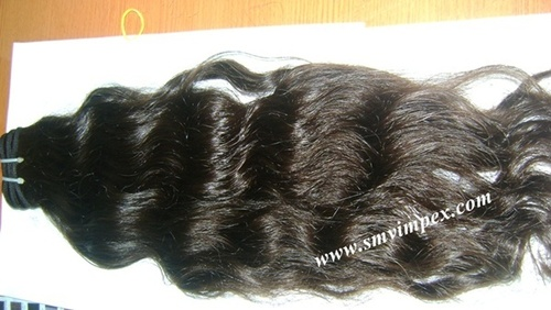 virgin remy wavy human hair