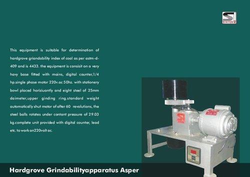 Hardgrove Grindability Apparatus