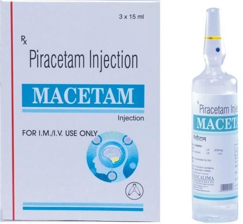 Piracetam Injection 15ml Piracetam Injection 15ml Exporter