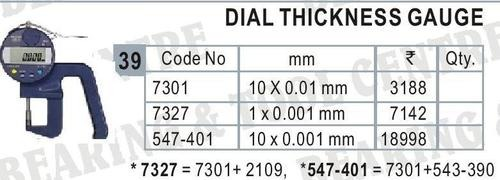 Dial Thickness Gauge Digital