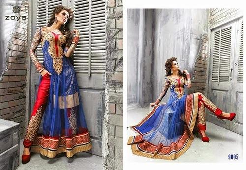 Indo Western Anarkali Suit