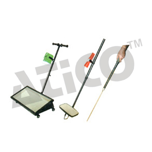 Trolley Mounted Vehicle Inspection Mirror