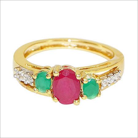 Ruby Studs Ring