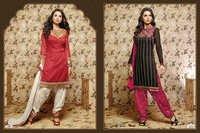 Ladies Unstitched Indian Dress Materials