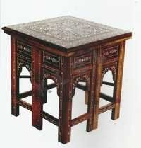Bone Inlaid Table