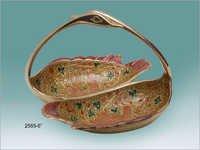 Golden Designer Gifts Basket