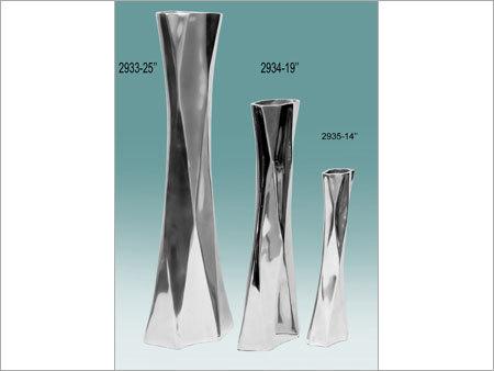 Aluminum Vases