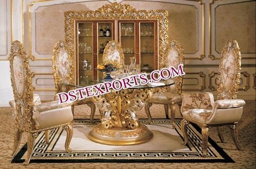 Royal Carved Wedding Furniture Set