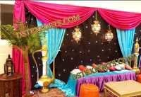 ROYAL WEDDING PAKISTANI MEHNDI STAGE