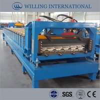 Steel Tile Forming Machine