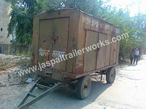 Industrial Generator Trolley