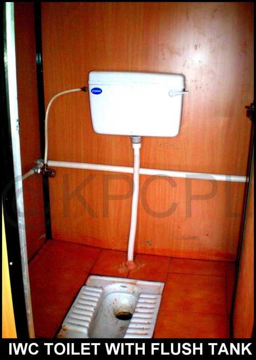 GRP Portable Toilet Block
