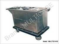 Food Trolley Stainless Steel  Export Quality