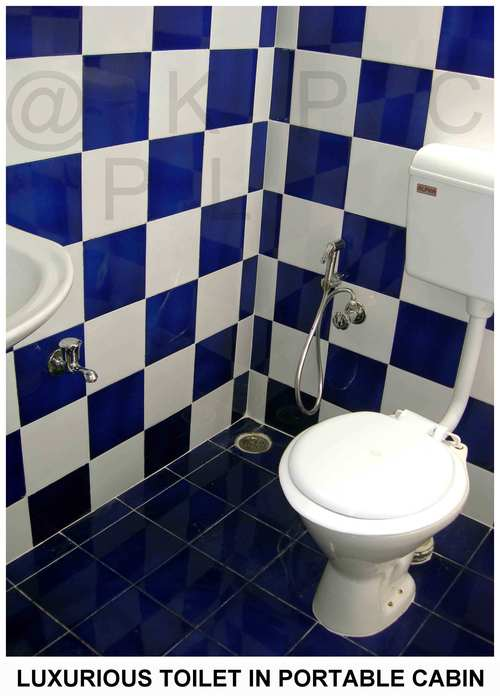 GRP Toilet Block