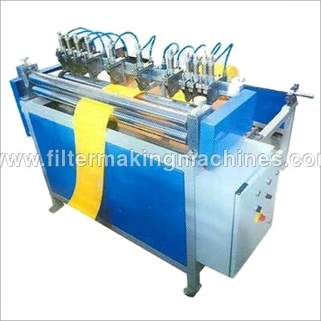 Pleat Edge Cutting Machine