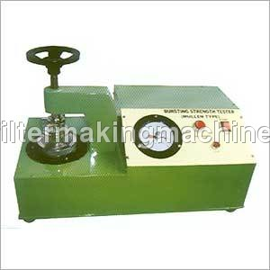 Paper Burst Strength Tester