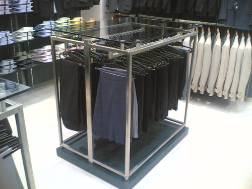Double Sided Cloth Display Rack