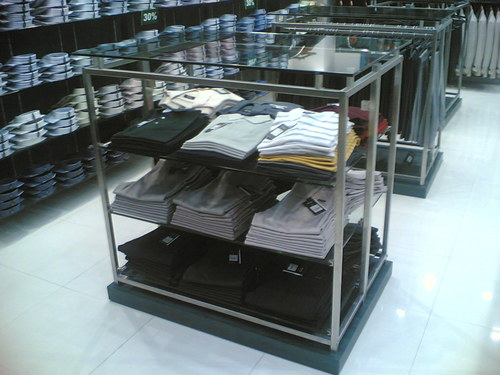 Cloth Glass Display Rack