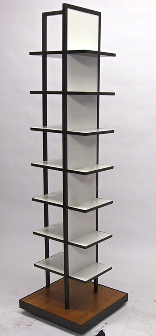 Double Sided Garment Display Rack
